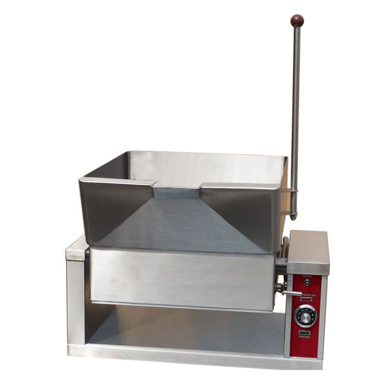 Accutemp ACGCTS-16 16 gal Tilting Skillet w/ 10 gal Pan & Thermostatic Control, LP