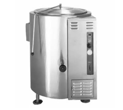Accutemp ACGL-40F Stationary Kettle w/ Full Jacket & 40 gal Capacity, Stainless, LP