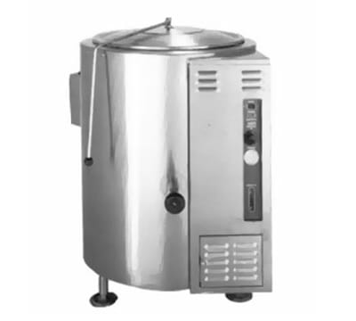 Accutemp ACGL-80E Stationary Kettle w/ 80 gal Capacity, Stainless, LP
