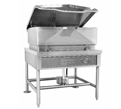Accutemp ACGLTS-40 Tilting Skillet w/ Pan & Cover, 40-gal Capacity, Stainless, NG