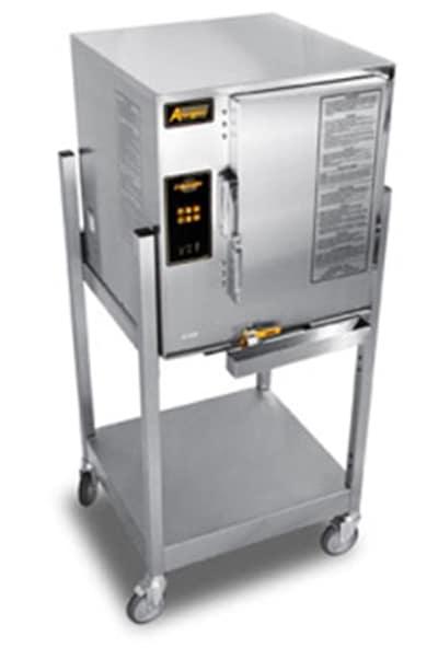 Accutemp E62403D130SGL Electric Floor Model Steamer w/ (6) Full Size Pan Capacity, 240v/3ph