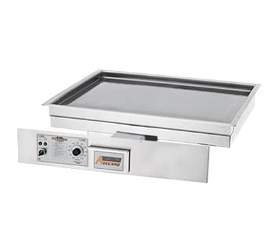 "Accutemp EGD2403B3600-00 Drop-In Griddle, 34"" x 23.5"", Stainless, 9.5kw, 240v/3ph"