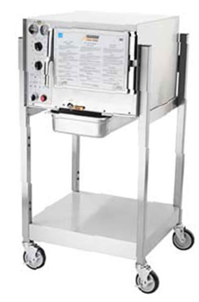 Accutemp S32083D100SGL Electric Floor Model Steamer w/ (3) Full Size Pan Capacity, 208v/3ph