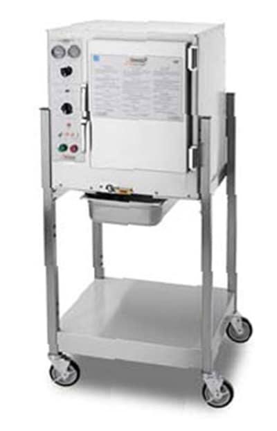 Accutemp S64803D140SGL Electric Floor Model Steamer w/ (6) Full Size Pan Capacity, 480v/3ph