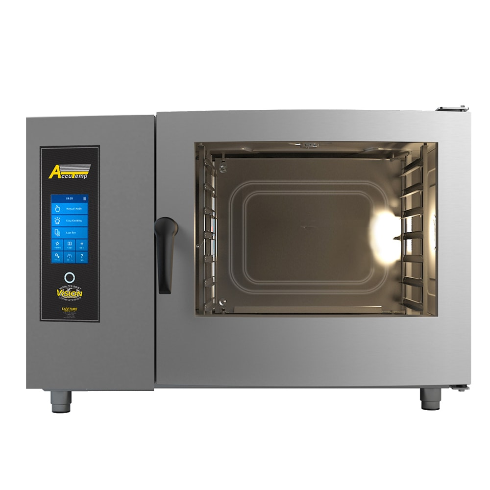 Accutemp T0621IN-1201000 Full Size Combi Oven - Boilerless, NG