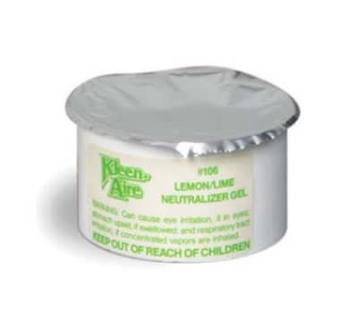 Continental 106 Kleen Aire™ Neutralizer Gel for 101 & 100 Dispensers, Lemon/Lime