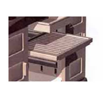 Continental 1590 BE Adjustable Cart Shelf, Standard w/ Models 1580 & 1585, Beige