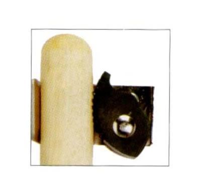 Continental 515 Broom & Mop Hanger Grips, .87 to 1.25-in Handle Steel, Rubber Grip