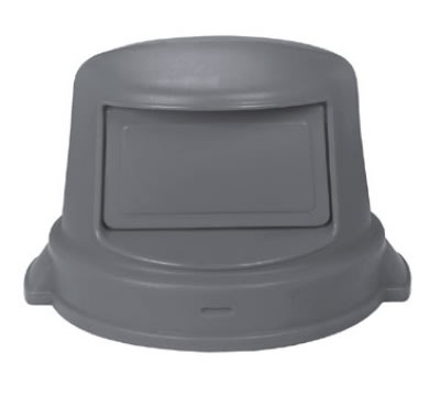 Continental 5550 GY Dome Top Lid for Huskee Trash Can Model 5500, Grey
