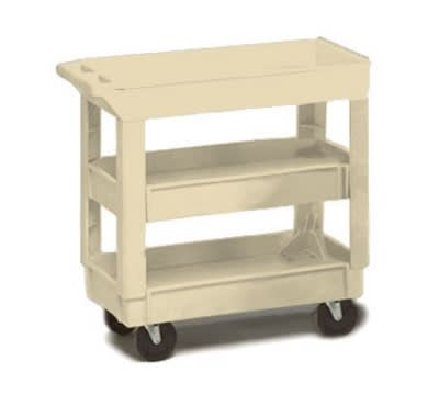 Continental 5801BE Center Shelf For Model 5800 Cart, 200-lb Capacity, Beige