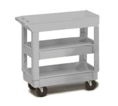 Continental 5801GY Center Shelf For Model 5800 Cart, 200-lb Capacity, Grey