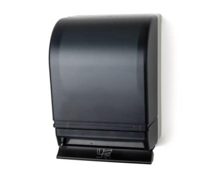 Continental 676 Paper Towel Dispenser, 10.5 x 15.75 x 8.75-in, Beige & Smoke