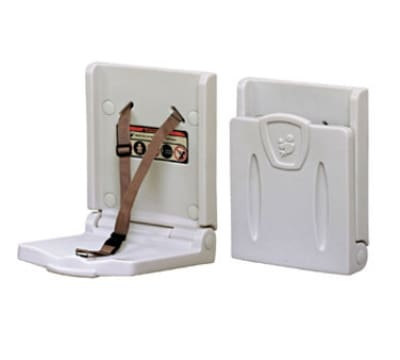 Continental 8254 Wall-Mount Child Safety Seat, White