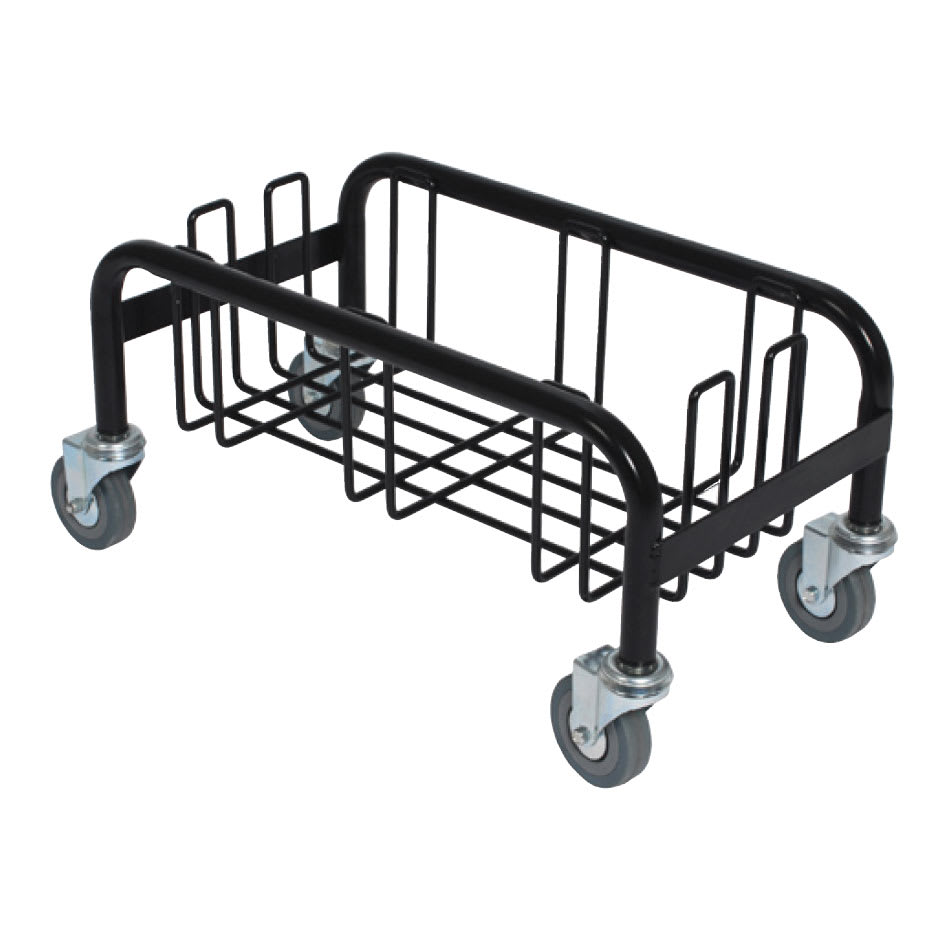 """Continental 8320 Receptacle Dolly for Wall Huggers, 3"""" Swivel Casters"""