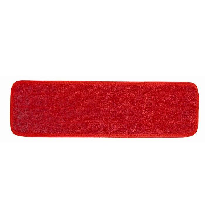 Continental C104018 Super Pro II Microfiber Mops, 5 x 18-in, Red
