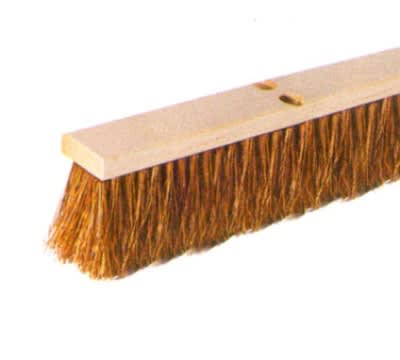Continental F102024 24-in Palmyra Garage Sweep w/ Wood Block, 4-in Trim