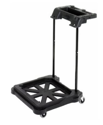 Continental MFT-5BK ErgoWorx Touchless MicroTek Trolley For SYS-5 System, Black