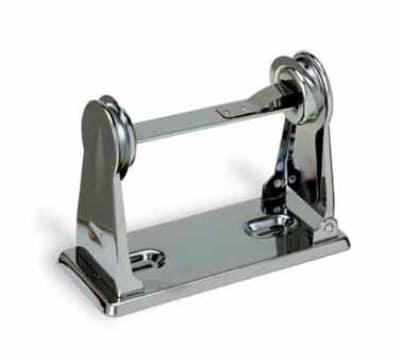 Continental RT22 Single-Roll Toilet Tissue Dispenser w/ Brake Spring Action, Chrome