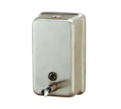 Continental V444SS Wall-Mounted Liquid Soap Dispenser w/ Vertical Tank, 40-oz