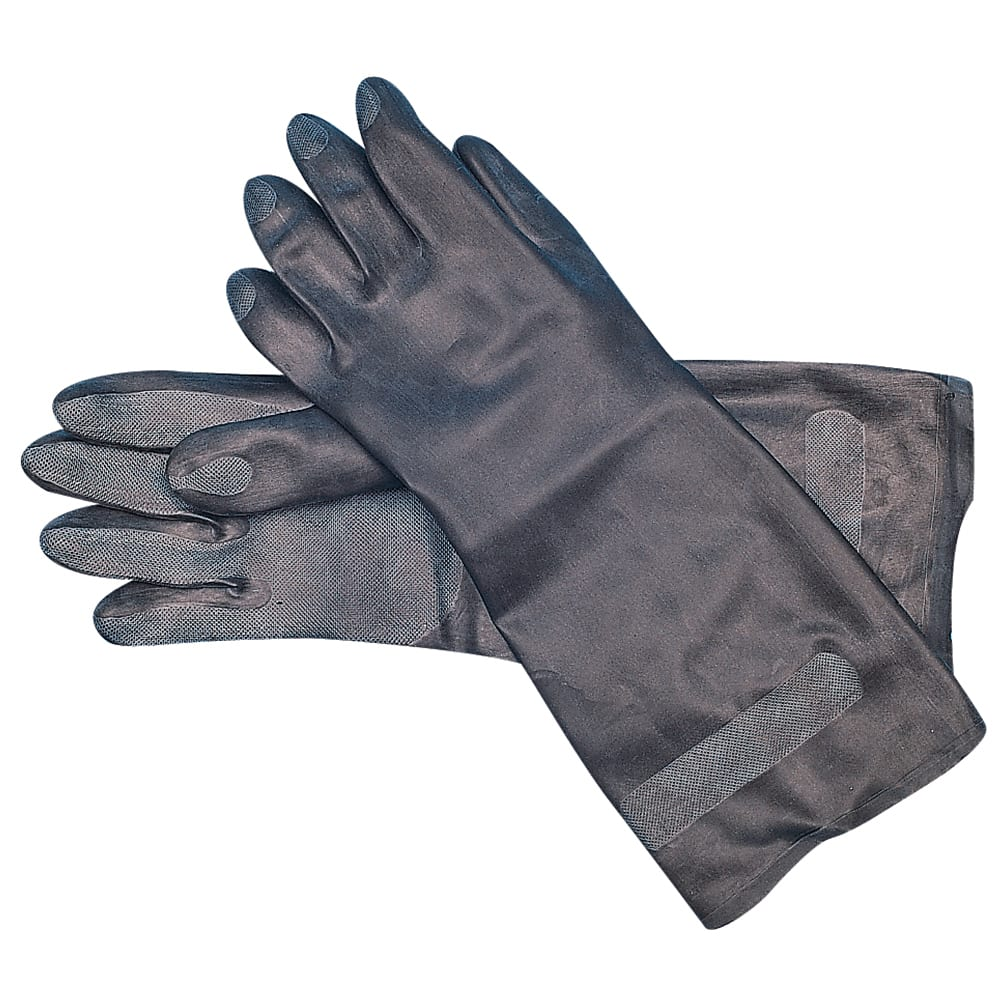 San Jamar 238SF-L Lined Neoprene Glove, Large, Heat Resistant, Embossed Grip