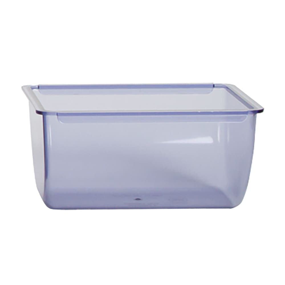 San Jamar BD106 Replacement Chillable 1 qt Tray for Domed Garnish & Condiment Center