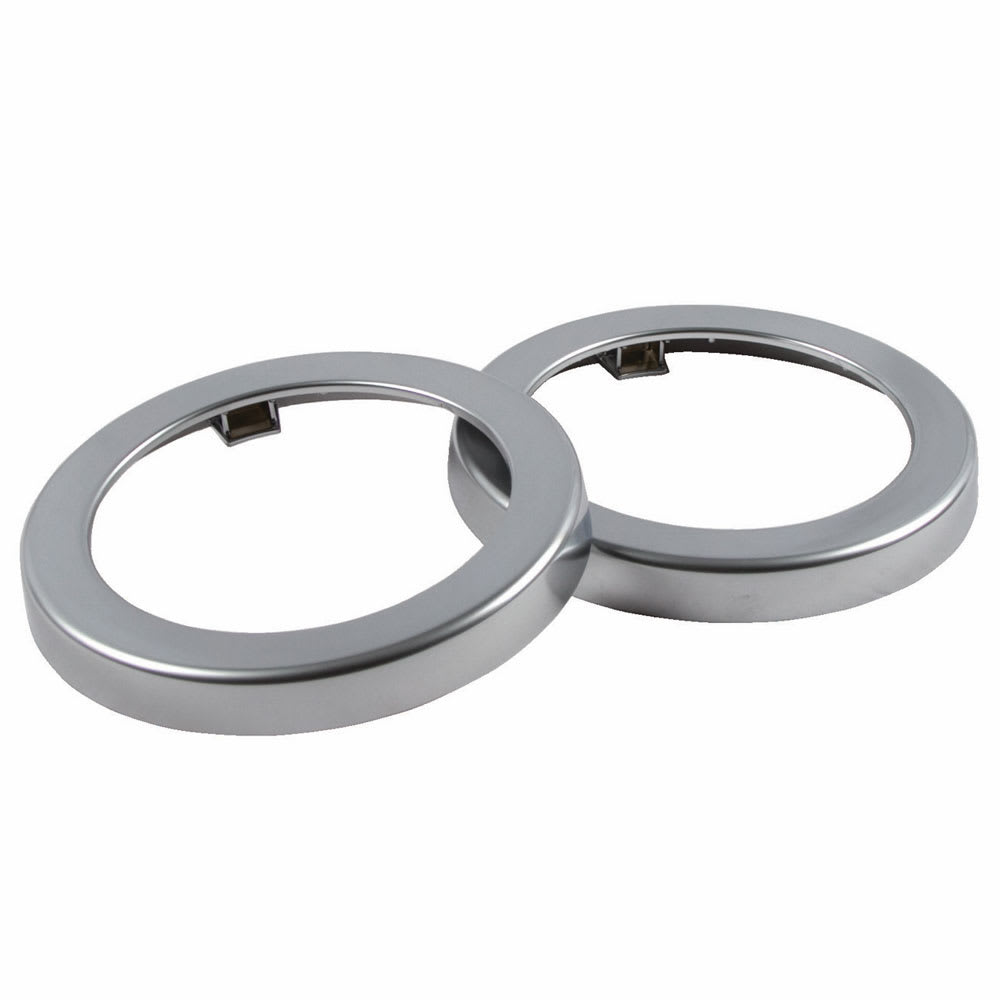 San Jamar C22XC EZ-Fit Metal Finish Rings, 2 per pack