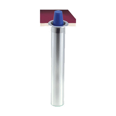San Jamar C3200CV Counter Mount Beverage Cup Dispenser, 6 10 oz Foam Cups, Vertical Mount