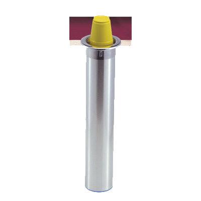 San Jamar C3400CV Gourmet Counter Mount Cup Dispenser, Fits 12 24 oz Foam Cups, Vertical Mount
