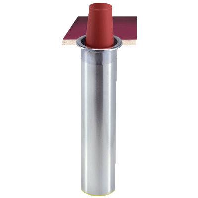 San Jamar C3500CH Counter Mount Beverage Cup Dispenser, 32-46 oz Foam Cups, Horizontal Mount