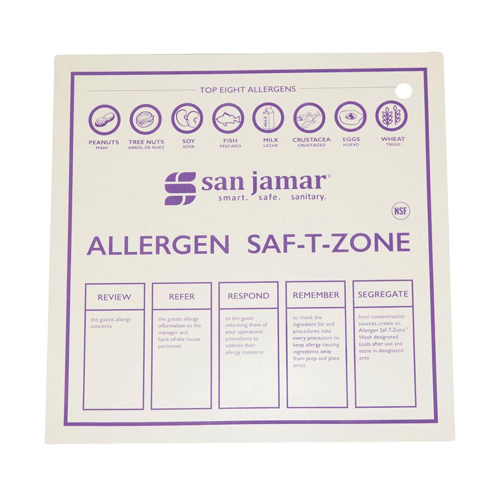 """San Jamar CBMASZ2430 24"""" x30"""" Allergen Mat - Dishwasher Safe"""