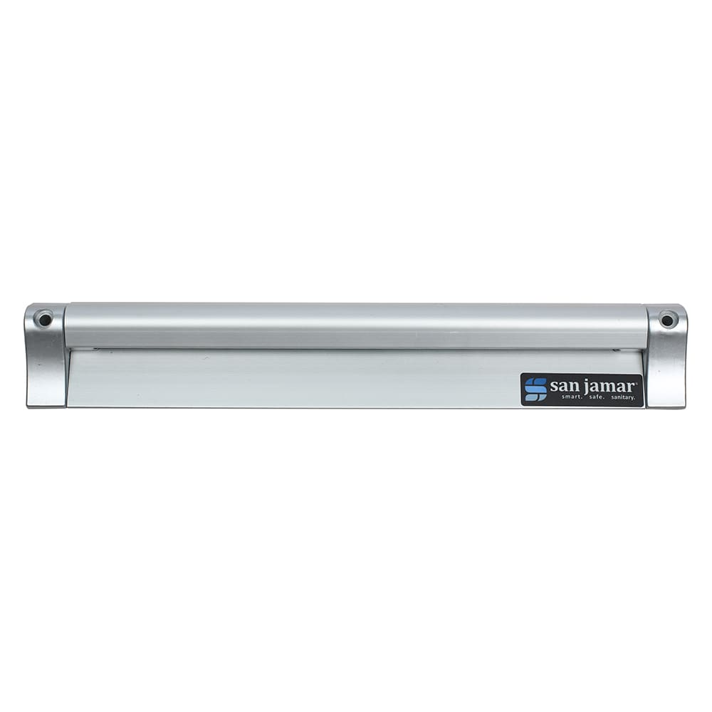 "San Jamar CK6512A Slide Check Rack, 12"" Long, Aluminum"