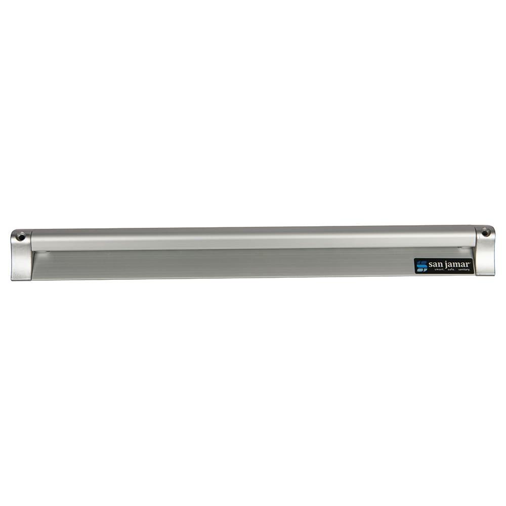 """San Jamar CK6518A Slide Check Rack, 18"""" Long, Aluminum"""