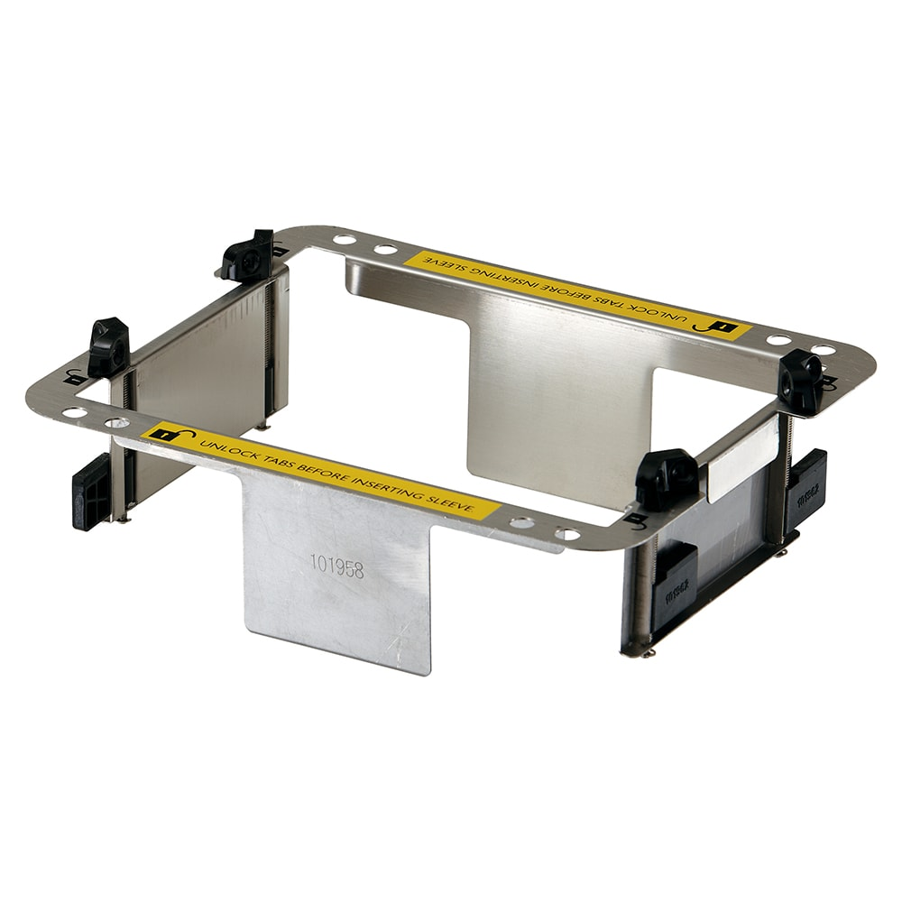 San Jamar H200ADT In-Counter Napkin Adapter - 8-3/20x6-3/5x3