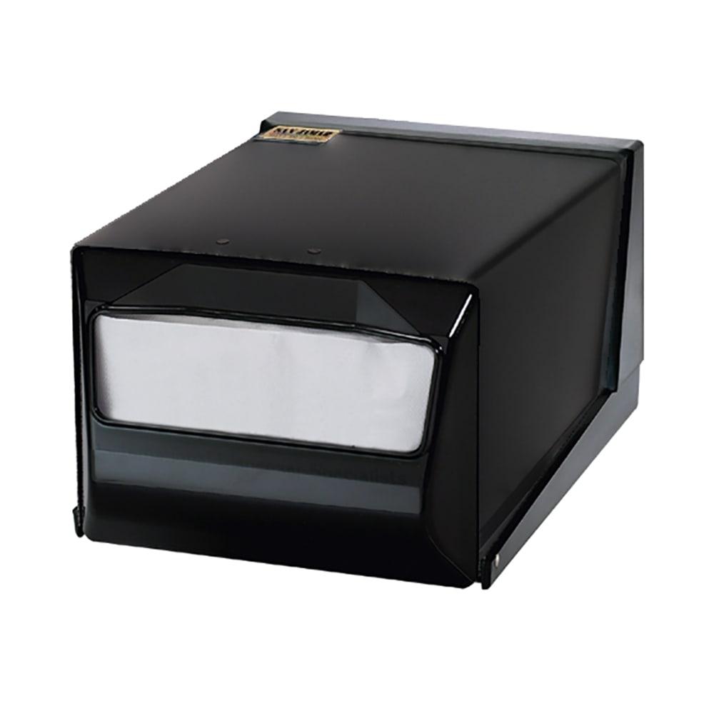 San Jamar H3001TBKBK Countertop 300 Fullfold Napkin Dispenser, Black