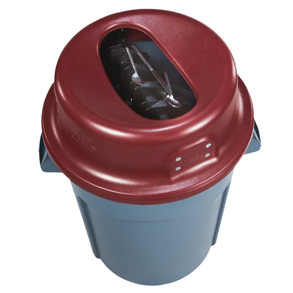 San Jamar KA4400 44 Gallon Katchall Tableware Retriever - Red