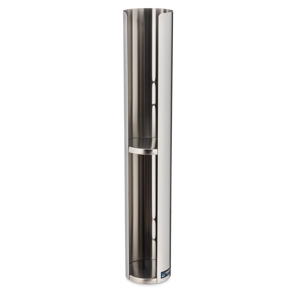 San Jamar L3402 Lid Dispenser, 1-Sleeve For 6 to 24-oz Lids