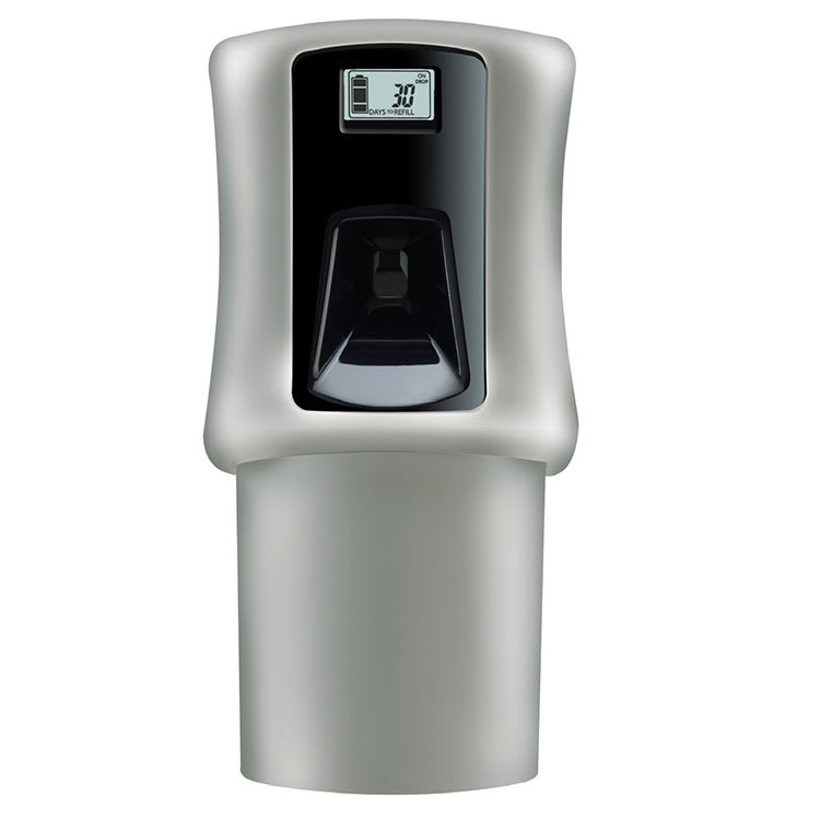 San Jamar LC125801803 Snap Air Care System w/ Indicator Light, Battery Powered, LCD, Grey