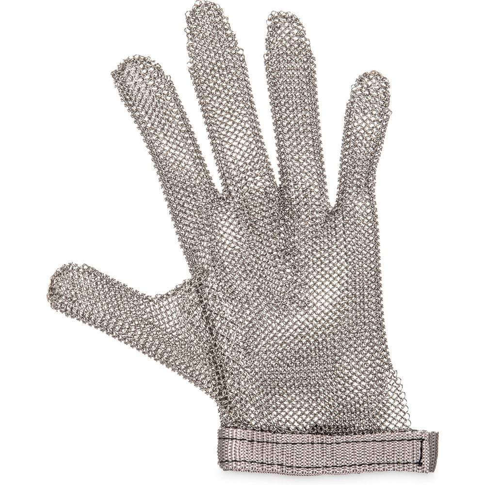 San Jamar MGA515XS Chainex Cut Resistant Glove, 5 Finger, SS Mesh, Ambidextrous, X-Small
