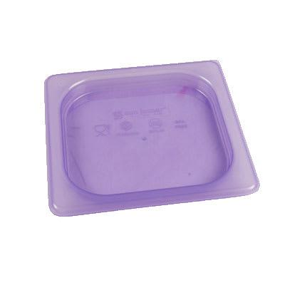 San Jamar MPL16PR 1/6 Size ModPan Food Pan Lid - Polypropylene, Purple