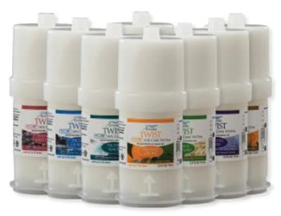 San Jamar RW107801235 Fragrance Refill for Arriba Twist w/ Premium Essential Oils, French Vineyard