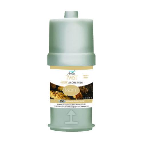 San Jamar RW107801256 2 oz Liquid Air Freshener Refill for Arriba™ Twist, Biscotti