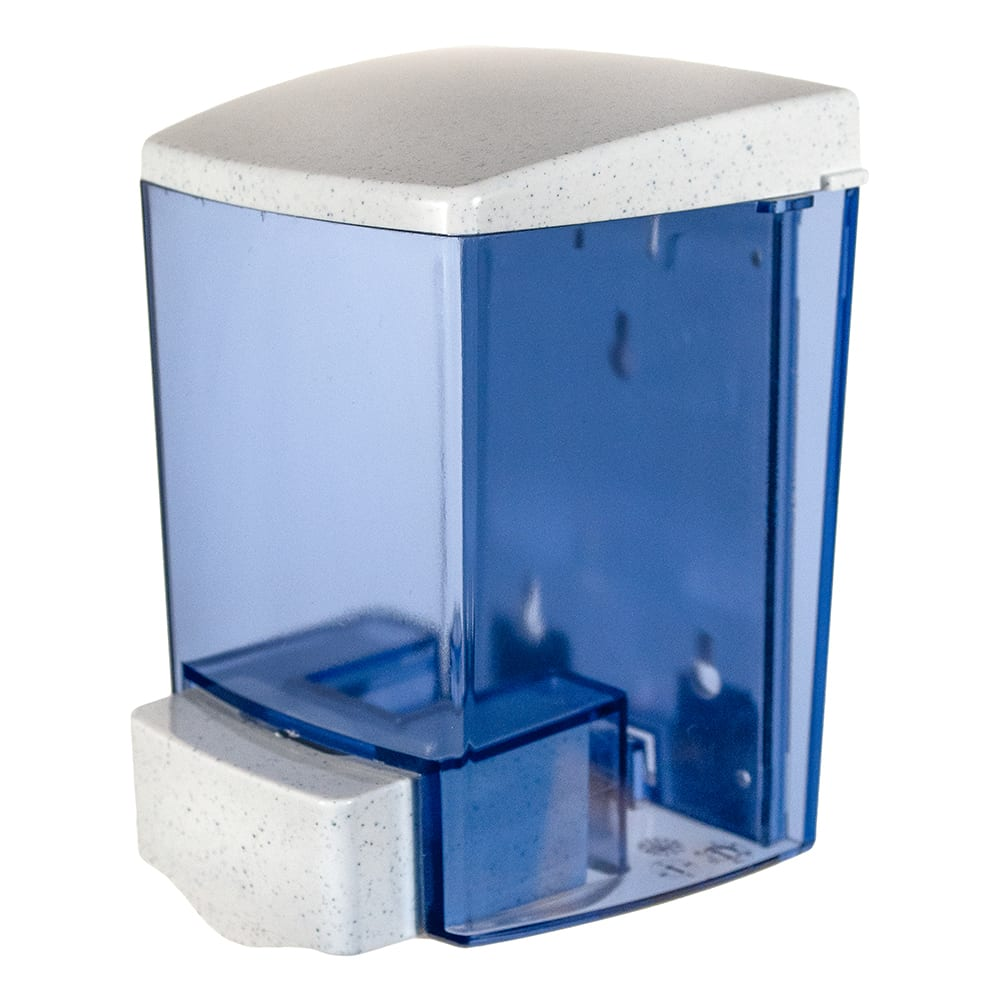 San Jamar S30TBL Classic Soap Dispenser, Wall Mount, For Lotions and Cream Soaps, Arctic Blue