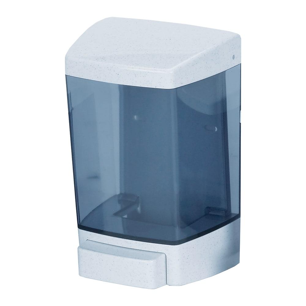 San Jamar S46TBL Wall Mount Classic Soap Dispenser, 46 oz, Push, Translucent Arctic Blue