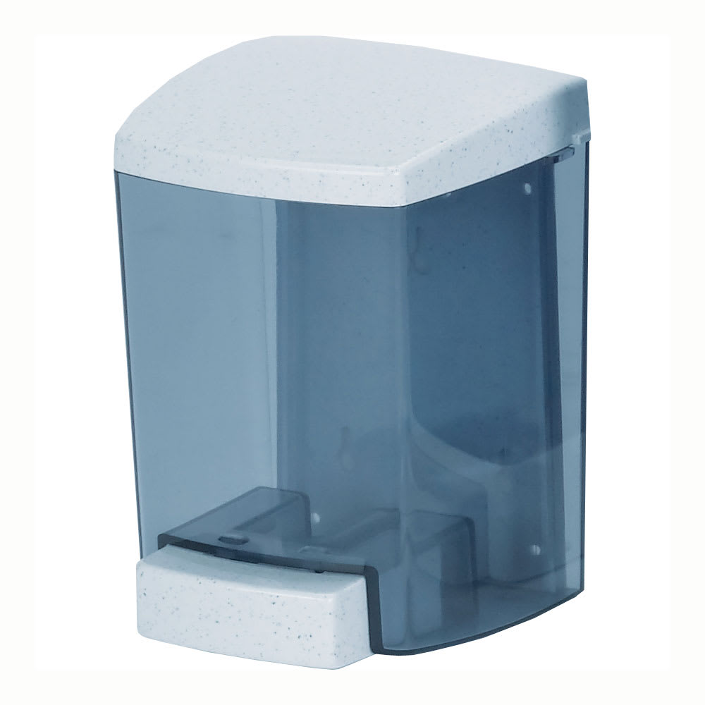 San Jamar SF46TBL Foam Soap Dispenser, 46 oz, Blue
