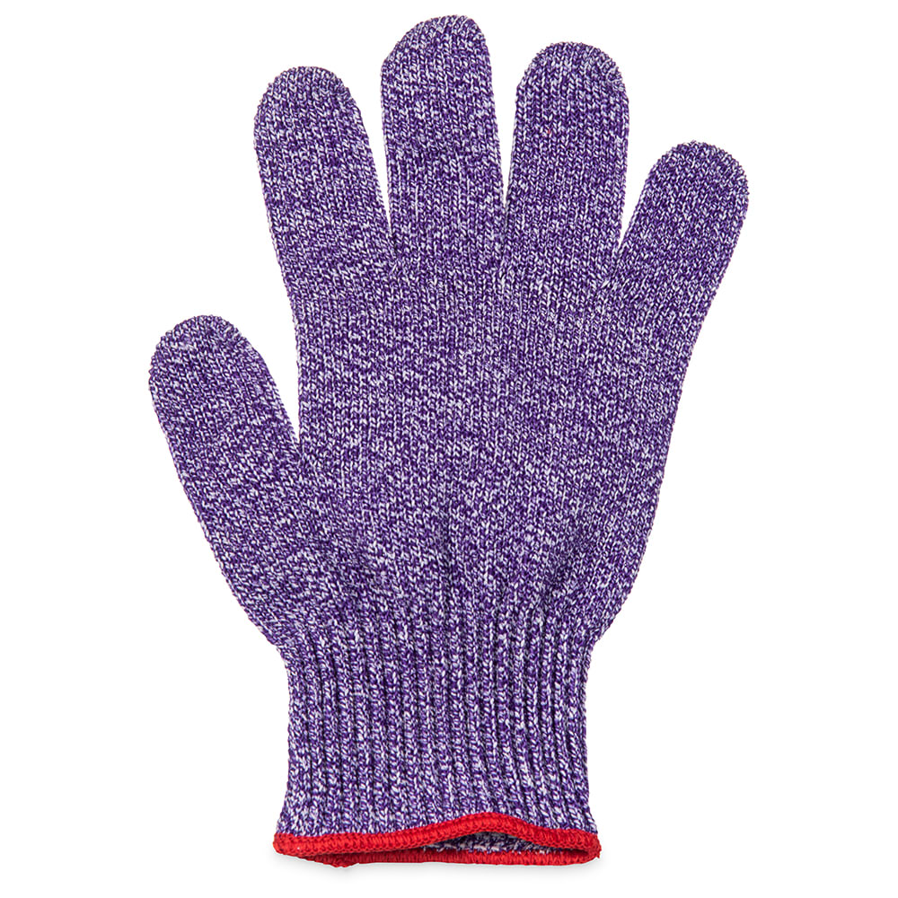 San Jamar SG10-PR-L Large Cut Resistant Glove, Purple