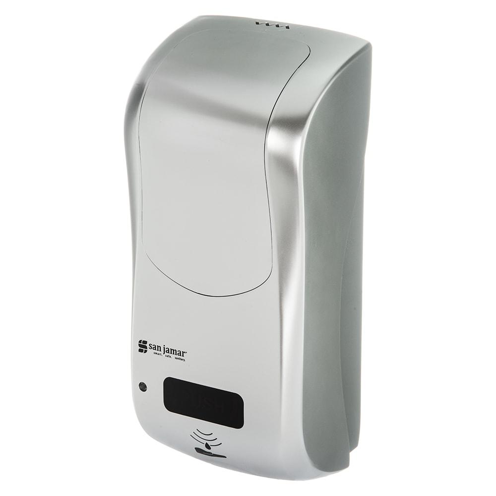 "San Jamar SHF970SS Wall-Mount Touch-Free Foam Soap Dispenser - 5.75"" x 12.25"", Stainless"