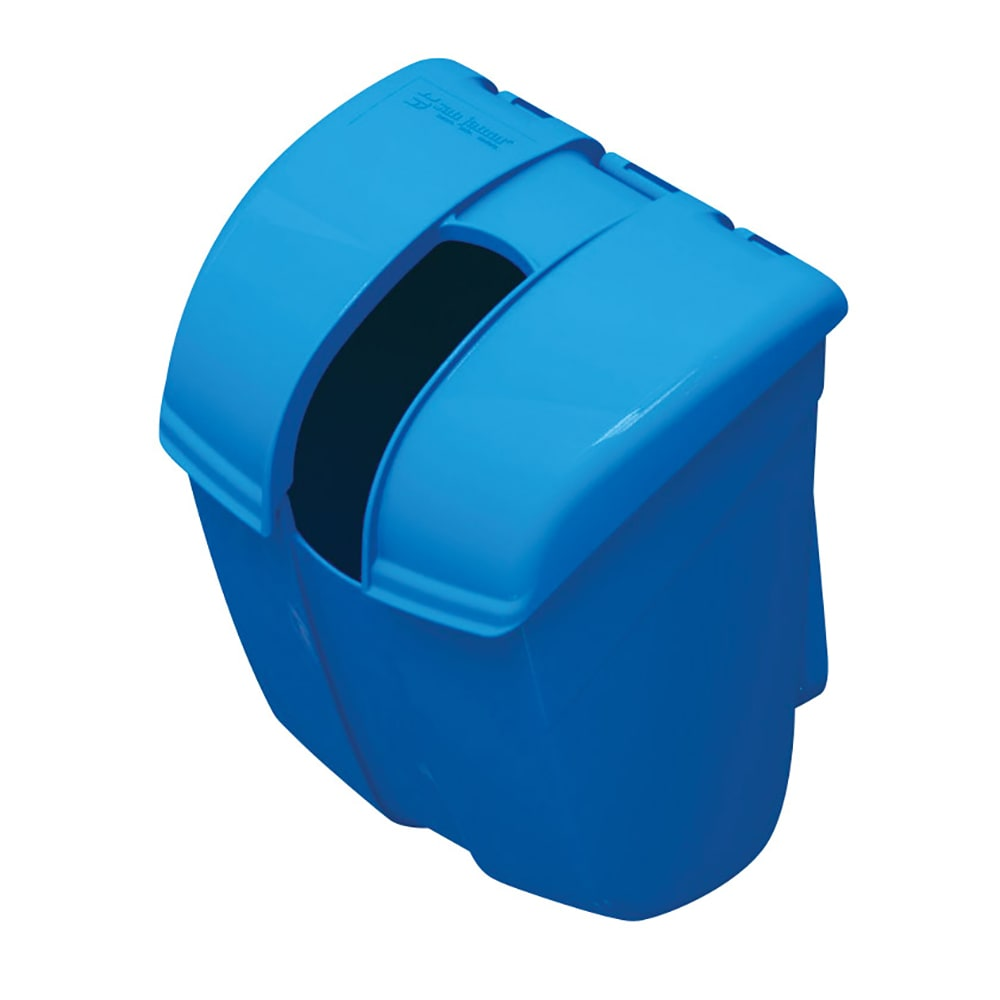 San Jamar SI2000 Ice Bin Saf-T-Ice Scoop Caddy, Blue