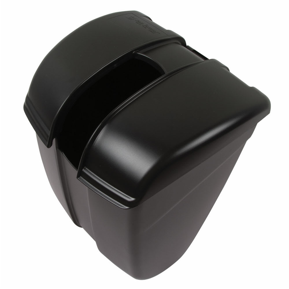 San Jamar SI2000BK Ice Bin Saf-T-Ice Scoop Caddy, Black