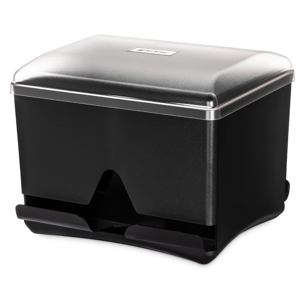 San Jamar ST500 Double-Sided Straw Dispenser - 500 Capacity, Black