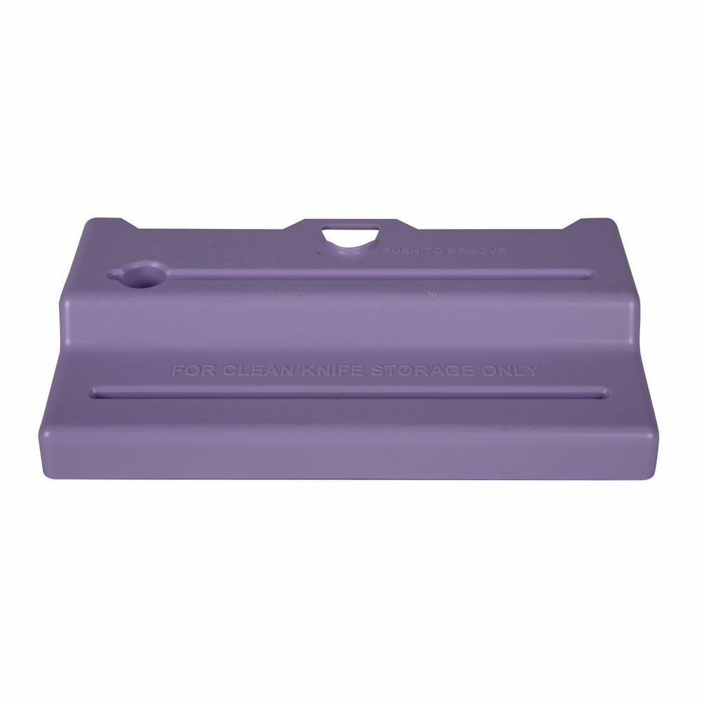 San Jamar STK1006PRL Lid for STK1006 Saf-T-Knife® Jr. Station - Purple